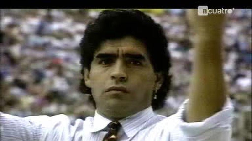 Maradona, historia viva