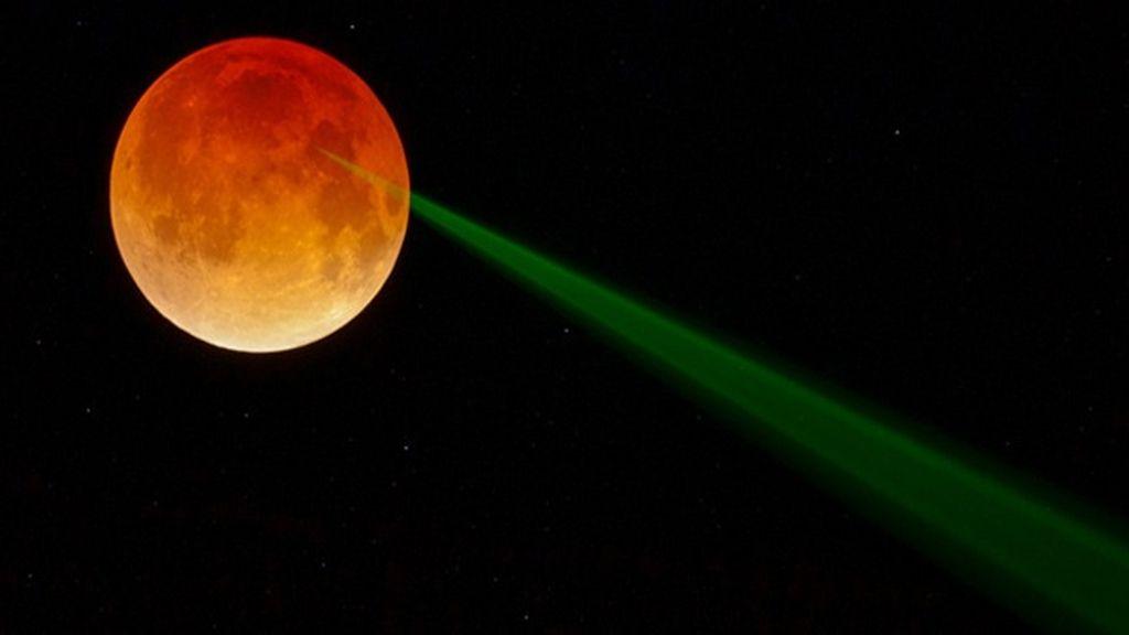 La NASA publica una fotografía de la Luna digna de una película de ciencia ficción
