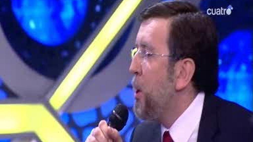 Mariano Rajoy rapea sobre la corrupción en el PP