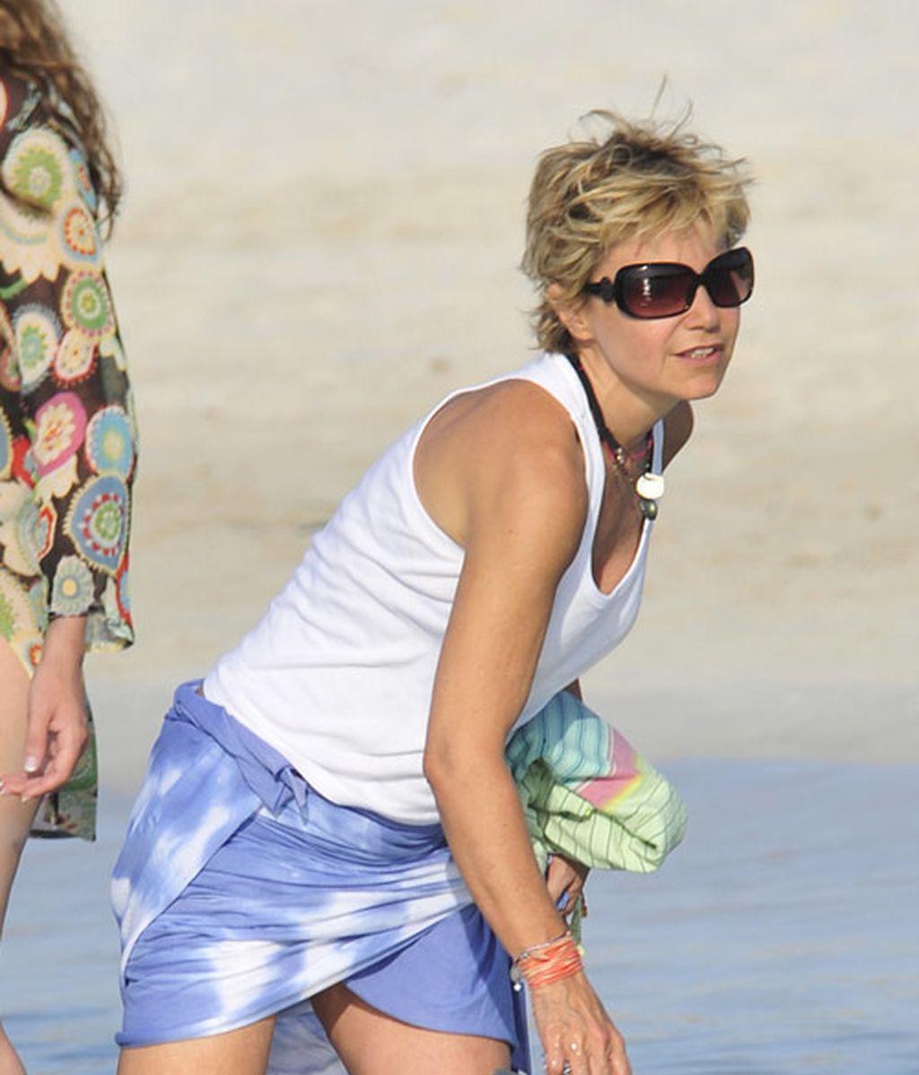 Eugenia en Ibiza