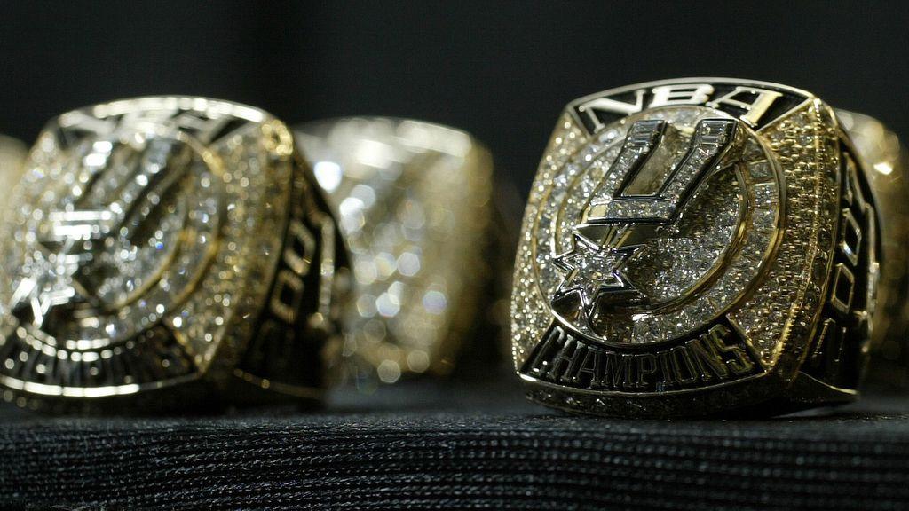 El anillo de la NBA