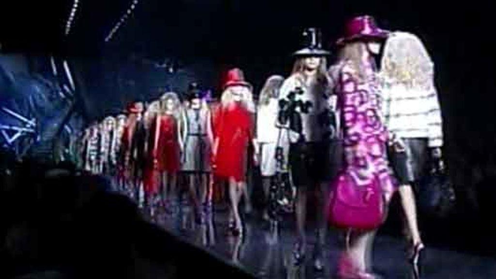 Desfile de John Galliano para Dior