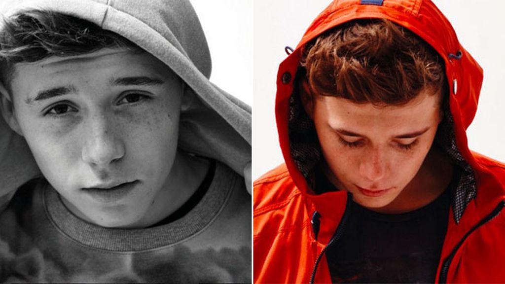 Brooklyn Beckham, siguiendo el rastro de sus padres