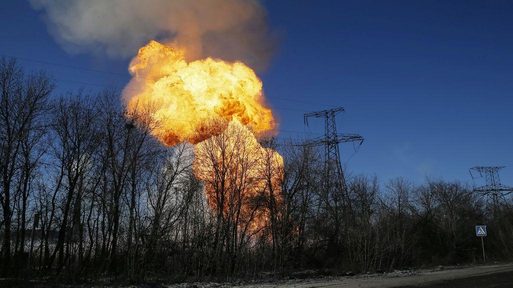 Explosión registrada en Debaltseve