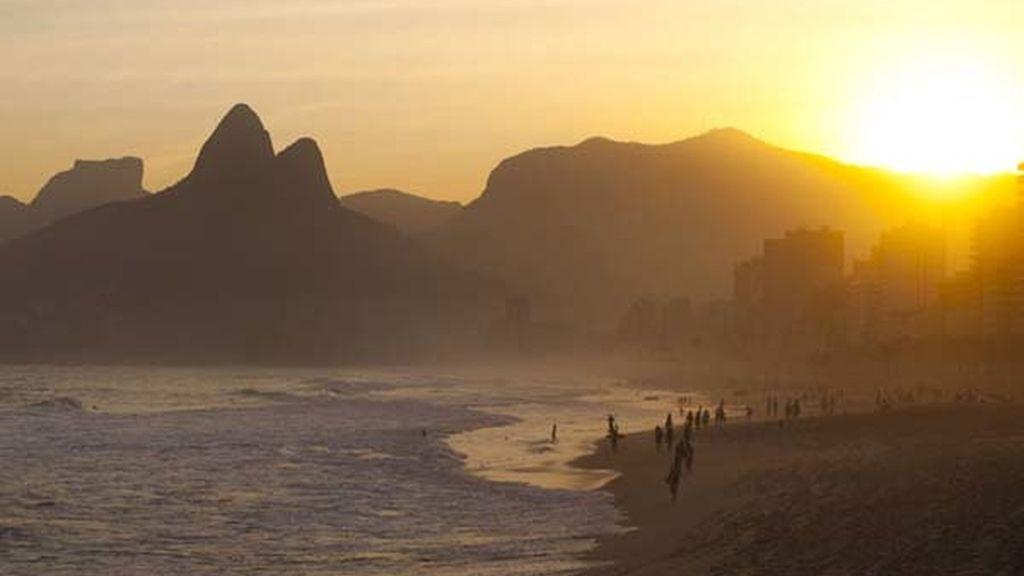 Playa de Ipanema, en Rio de Janerio