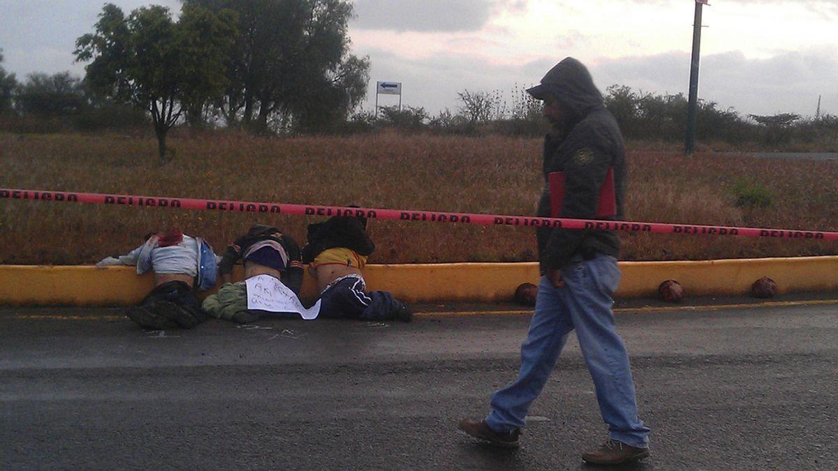 Aparecen cinco personas decapitadas en México