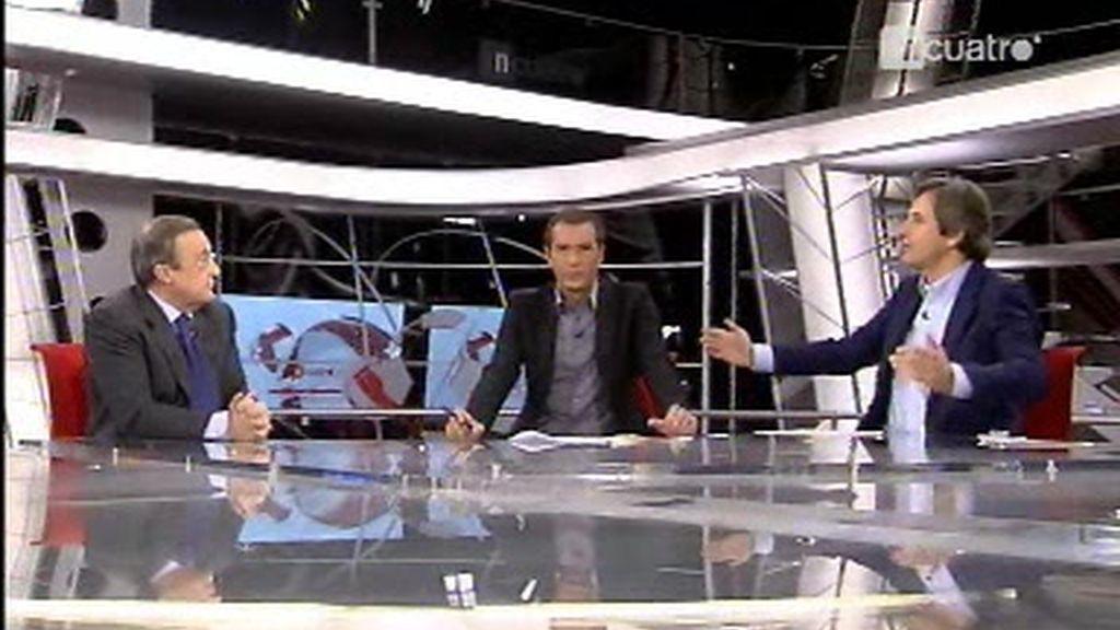 Entrevista a Florentino Pérez: La lesión de Cristiano