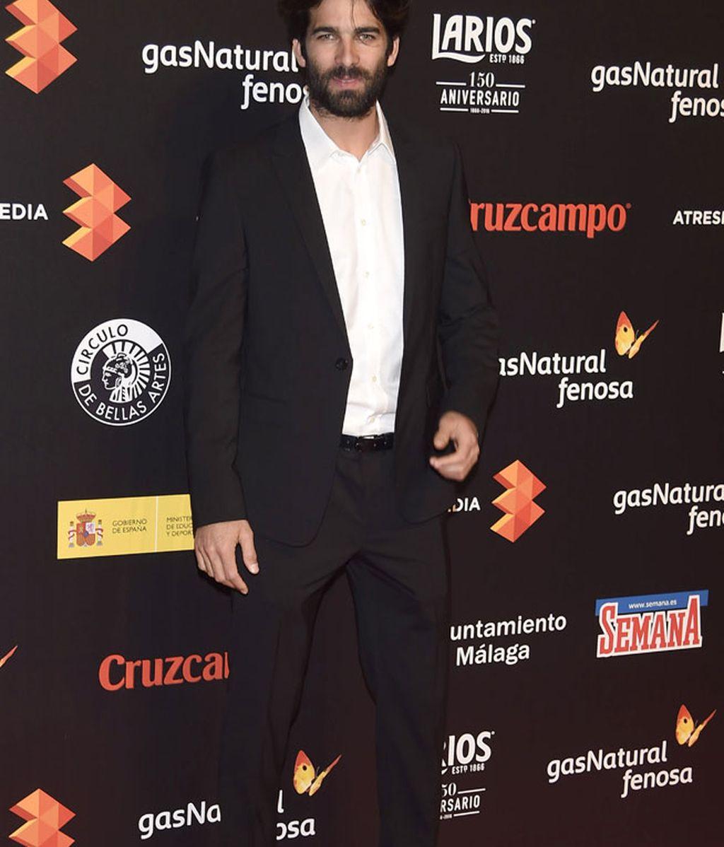 Rubén Cortada, de traje y sin corbata