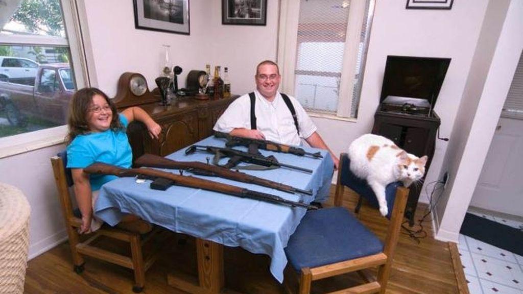 Familias armadas tras la matanza de Connecticut