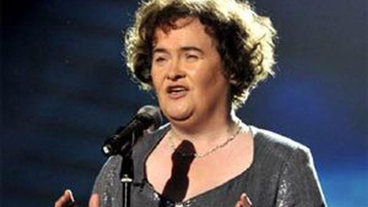 Susan Boyle en la final del concurso. Foto: talent.itv.com.