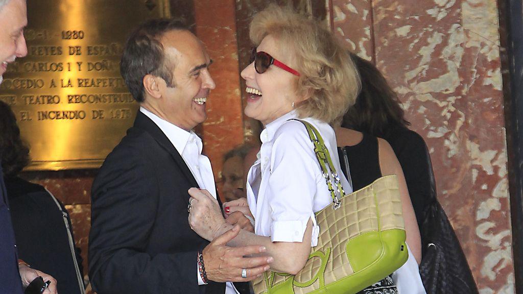 Juan Ribó y Marisa Paredes