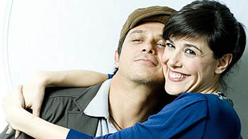 Alejandro Sanz y Raquel Sánchez Silva
