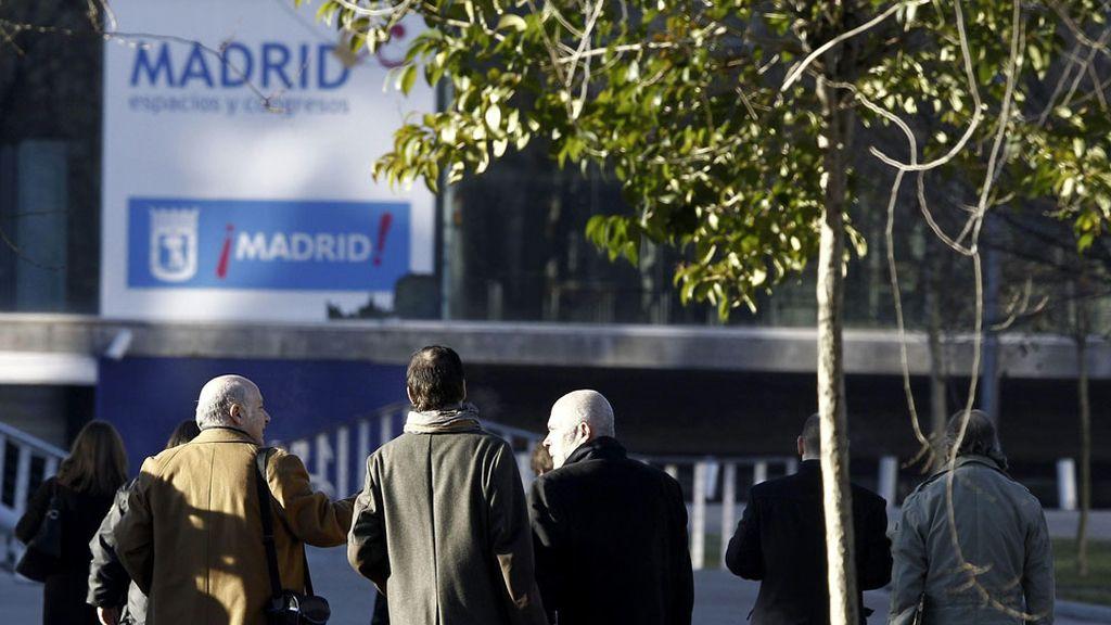 Los abogados de las víctimas y de Miguel Ángel Flores llegan al Madrid Arena