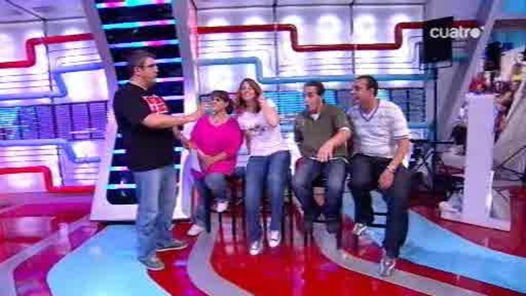 Aparición estelar de los ganadores del concurso VIP más 'Tontaco'