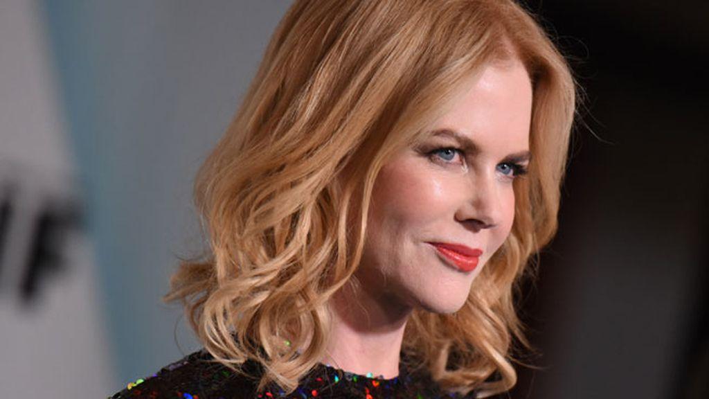 Nicole Kidman eligió hacerse ondas para el pelo