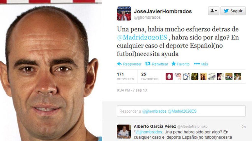 Medallistas españoles, decepcionados con la decisión del COI