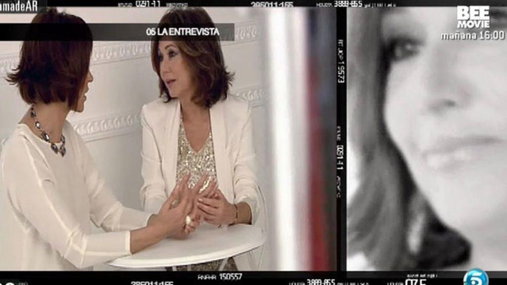 """Concha García Campoy: """"Mi máxima ilusión era cuidar de los míos tras la enfermedad"""""""