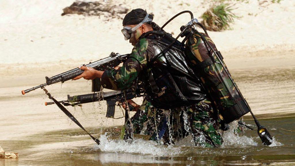 Contra el terrorismo bajo el agua