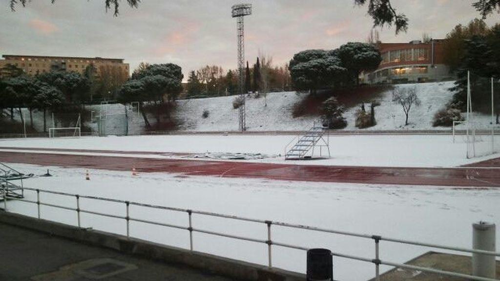 Nieva en Madrid y la zona centro
