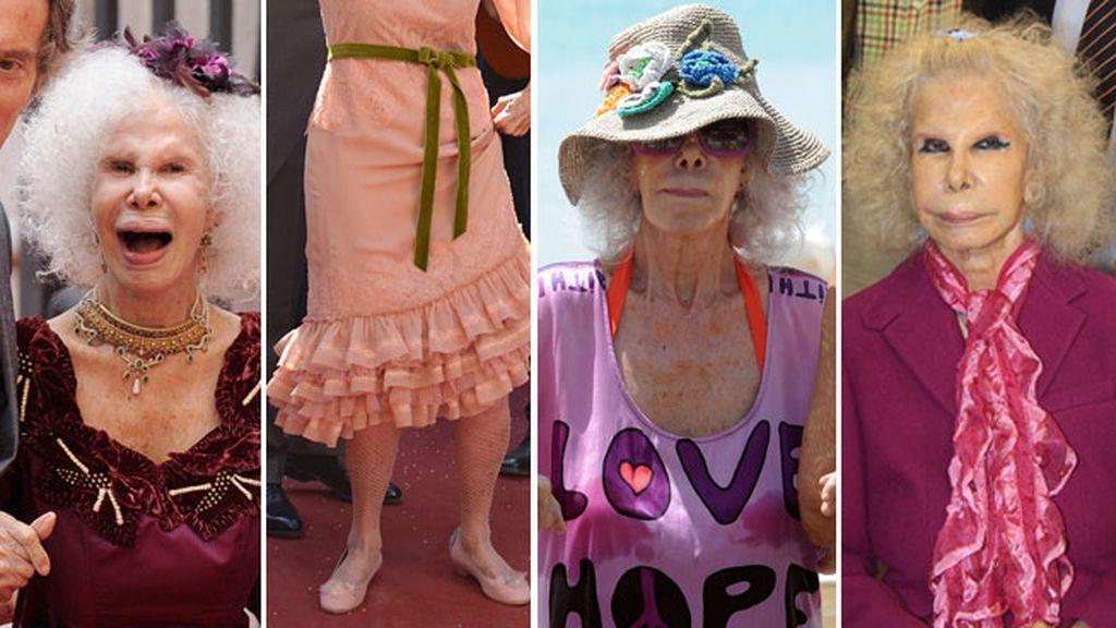 Colores, tipos de prenda y sobre todo combinaciones que sólo ella hacía posible