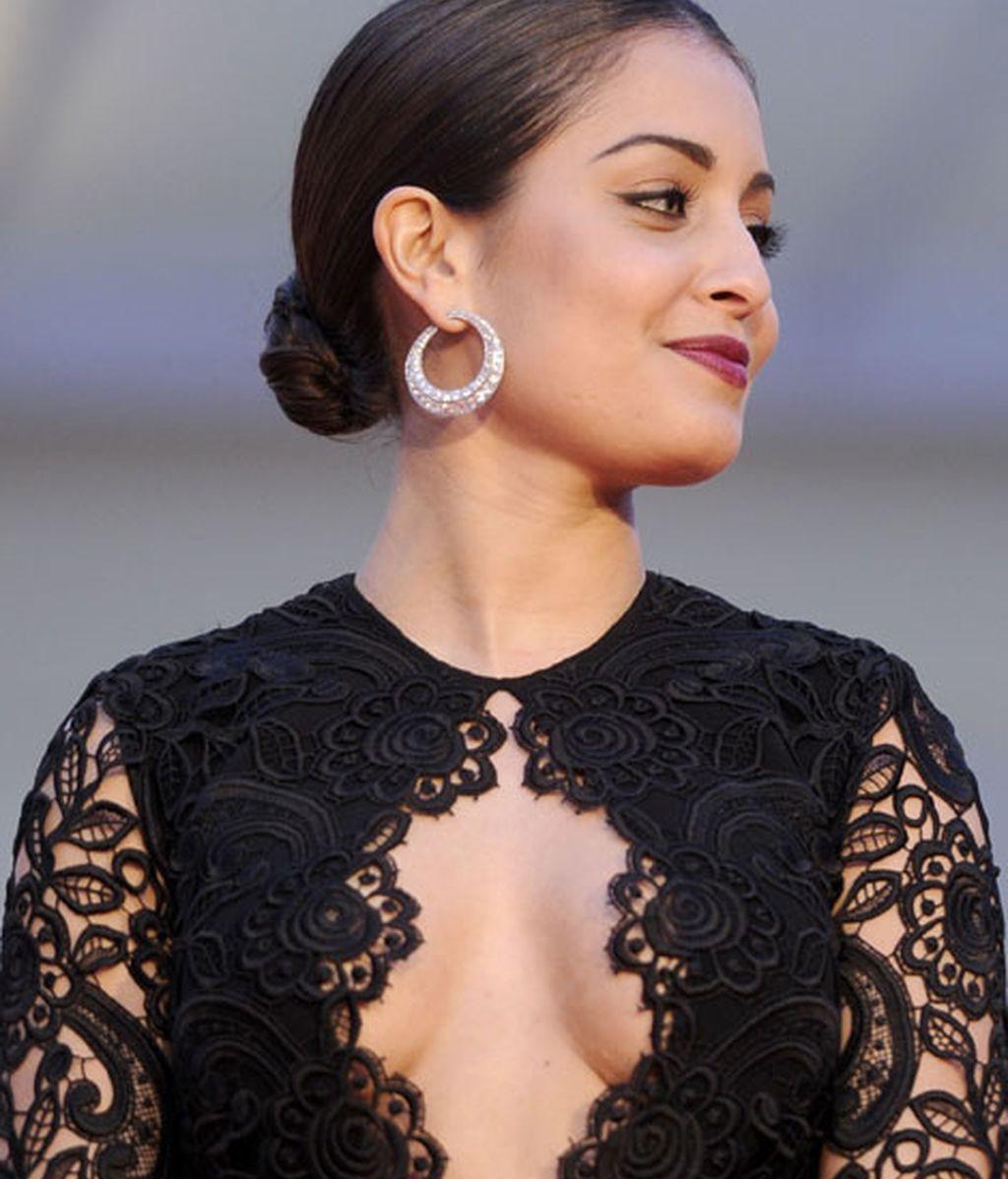 Hiba Abouk, con vestido de Vicky Martín Berrocal