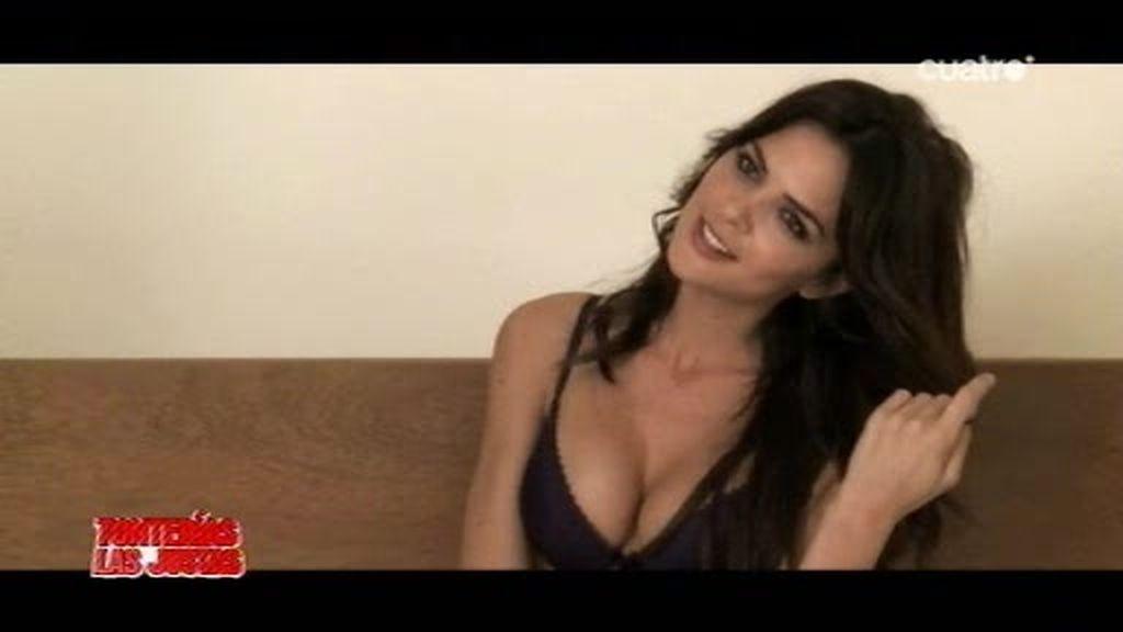 Romina Belluscio, muy sensual para seducir al 'duro' Stallone