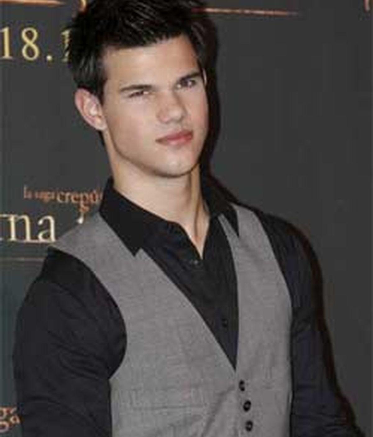 Taylor Lautner interpreta a Jacob Black. Foto: EFE.