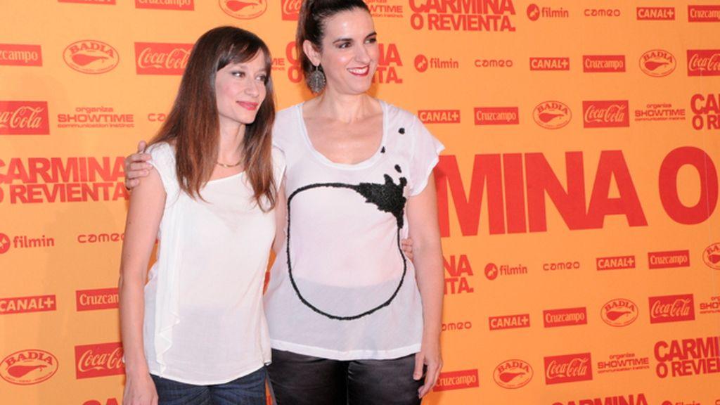 Natalia Hernández y Llum Barrera