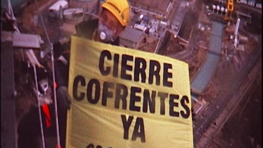 Protesta ecologista contra Cofrentes