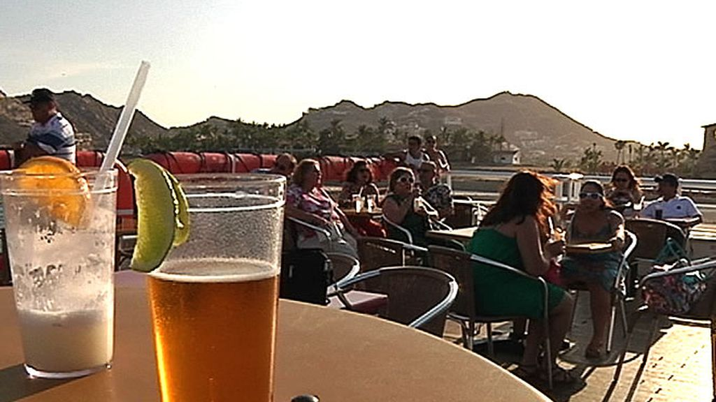 Buen ambiente y relax en una terraza en California