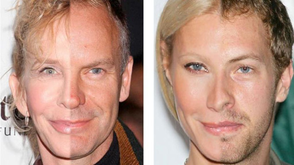 Trudie Styler y Sting/ Gwyneth Paltrow y Chris Martin