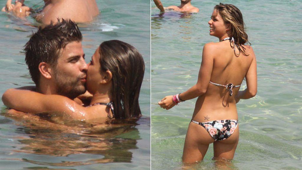 Tuvo una relación con otro deportista, Piqué, que duró 4 años, (se dice que él la dejó por Shakira)
