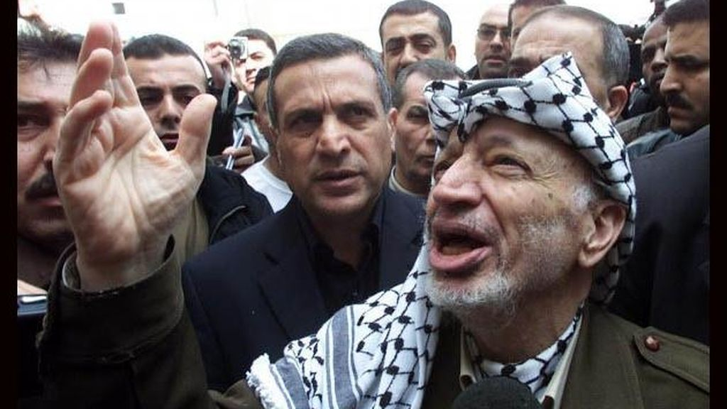 Imagen de archivo de Yaser Arafat