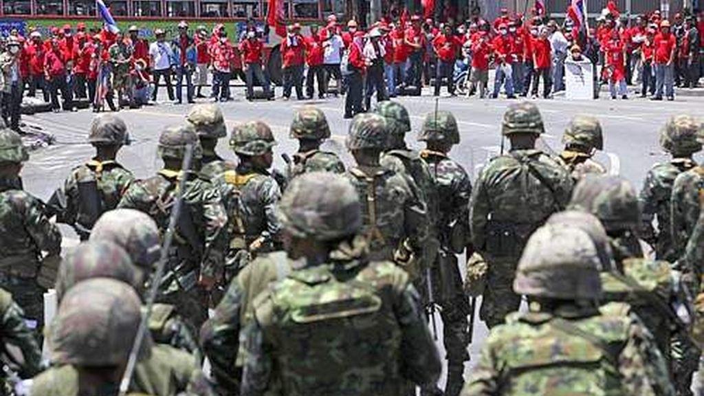 Enfrentamientos en Bangkok