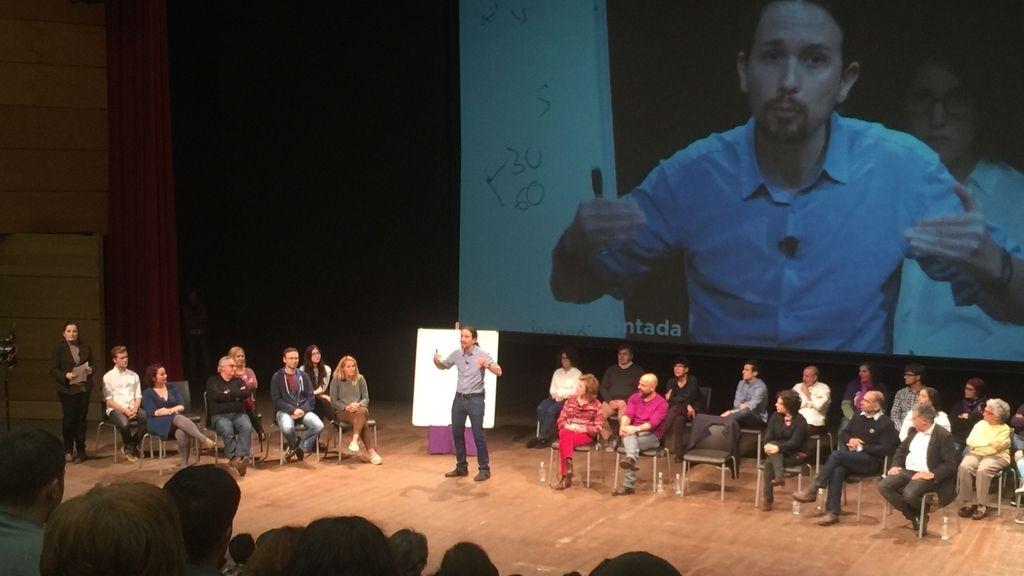Pablo Iglesias en Madrid y Toledo