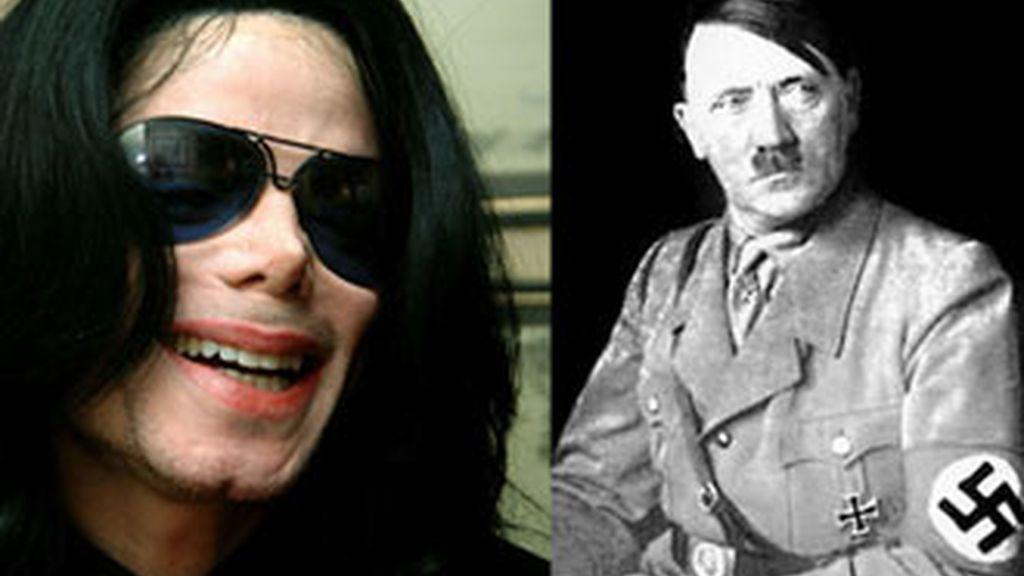 """Michael Jackson declaró en una entrevista que Adolf Hitler era """"un orador genial""""."""