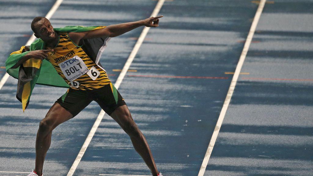 Usain Bolt, oro en los 100 metros lisos