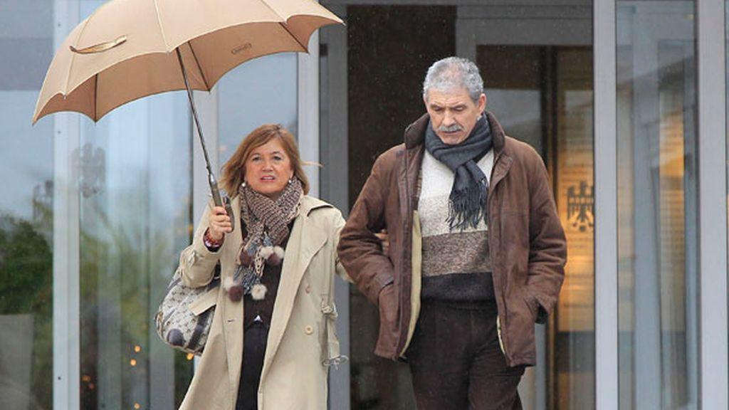 Los padres de Iker Casillas han conocido a su nieto