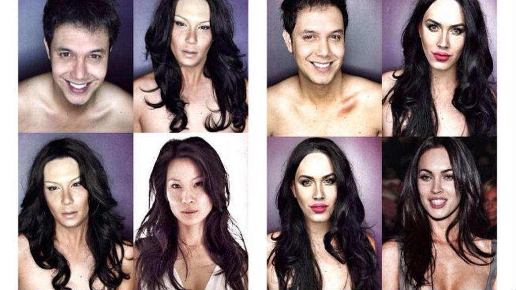 Morenas al poder: Lucy Liu y Megan Fox