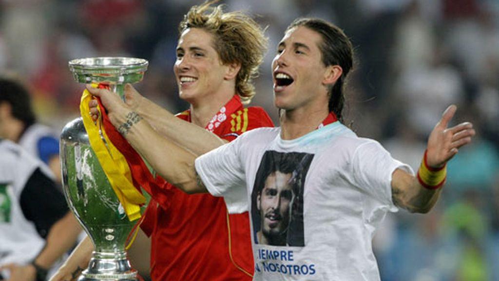2008: Campeón de Europa con España