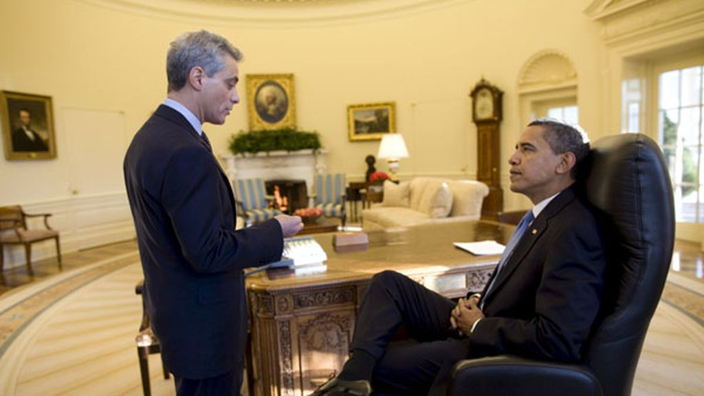 Obama se pone manos a la obra