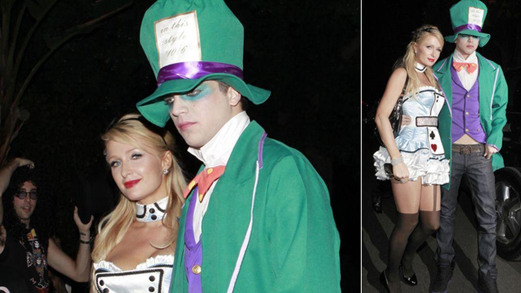 Paris Hilton, otra Alicia con el Sombrerero Loco