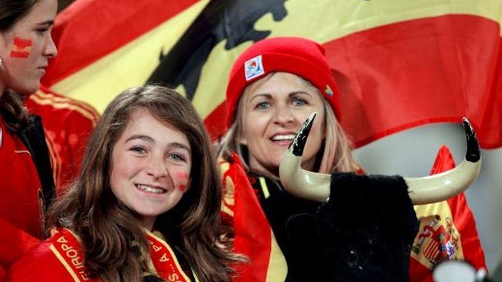 España-EEUU, en imágenes