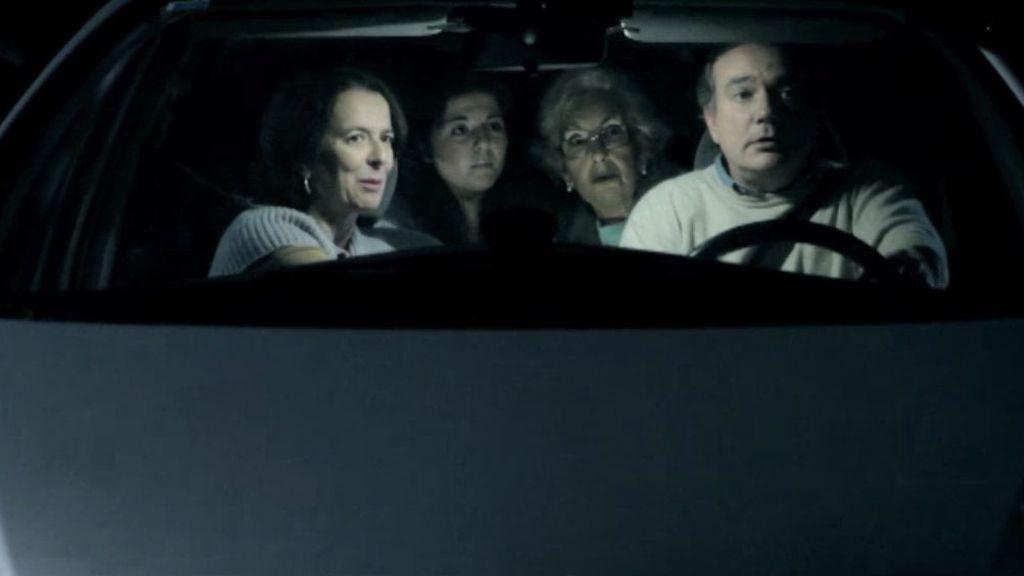 Un ente en la carretera trasmite un macabro mensaje
