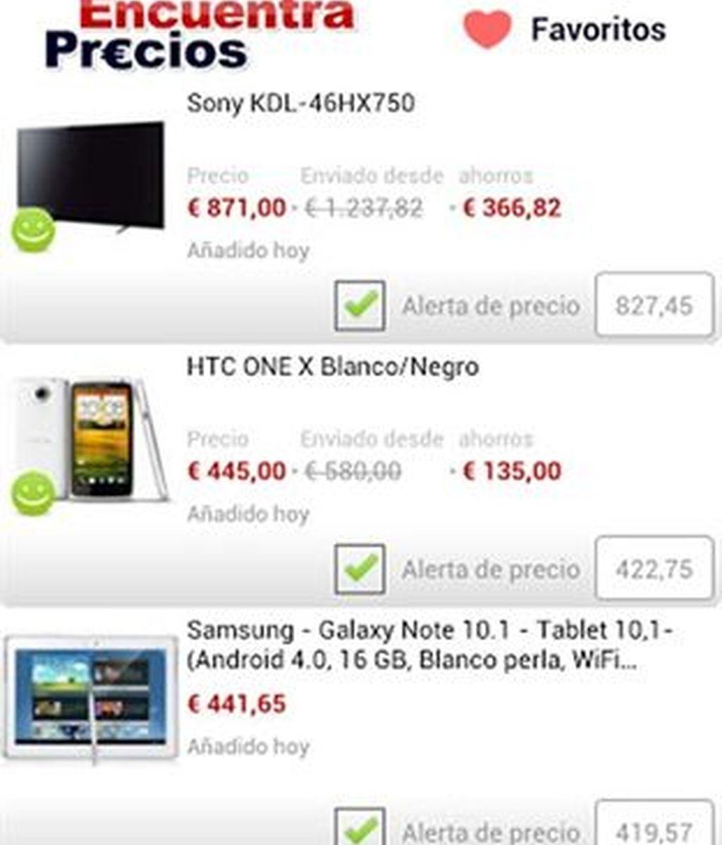 La aplicación EncuentraPrecios ayuda a los usuarios de Android a ahorrar