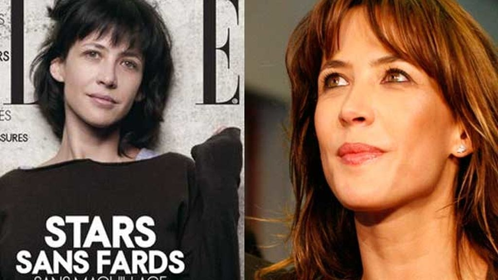 Las famosas se atreven a posar sin maquillaje