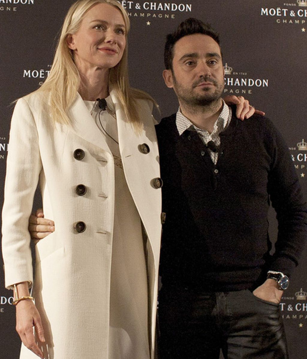 Naomi Watts y José Antonio Bayona