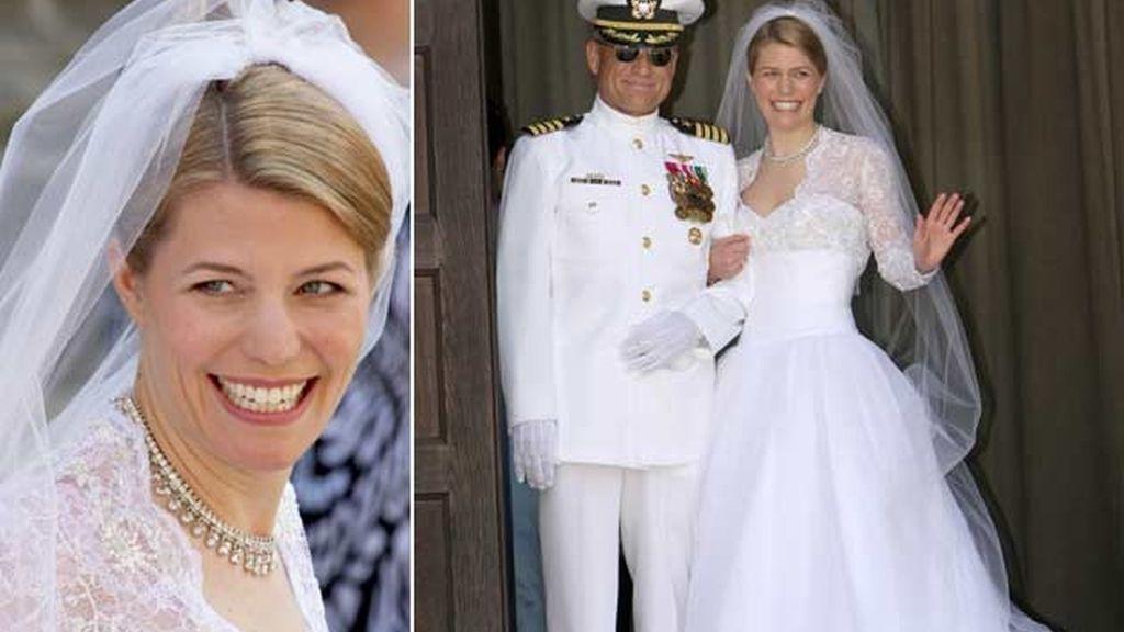 24-05-2009 Kelly Rondesvelt y el príncipe Hubertus de Sajonia Coburgo/ Coburgo
