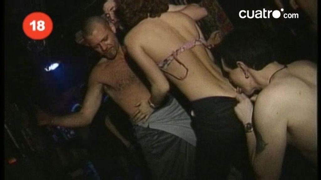 Berlín: Fiestas sexuales sin ropa