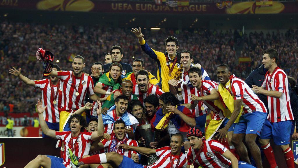 Atlético de Madrid, campeón de la Europa League